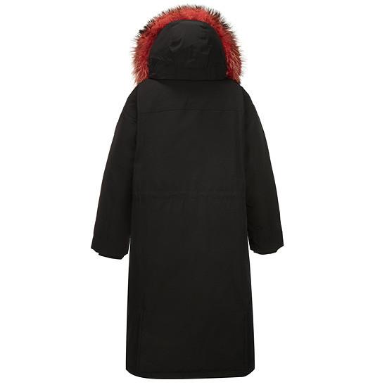 코오롱스포츠(KOLON SPORT) 여성 야상 롱다운자켓(하이라인)_VKJDW18011BLK