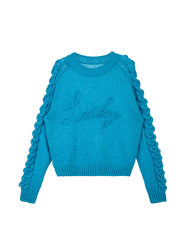 LUCKY Embroidery Pullover