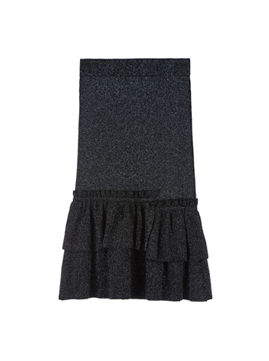 Ruffle Mermaid Knit Skirt