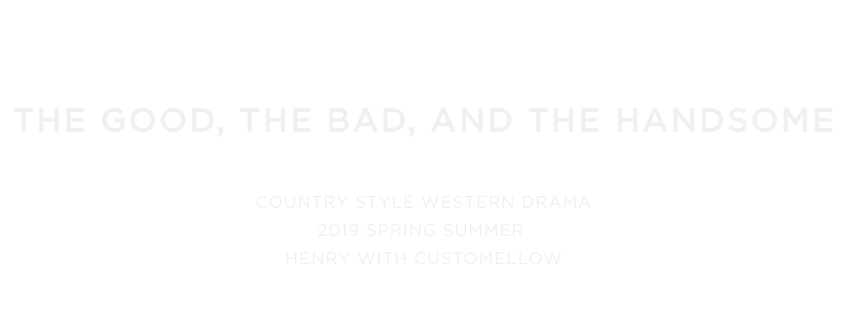 THE GOOD THE BAD AND THE HANDSOME