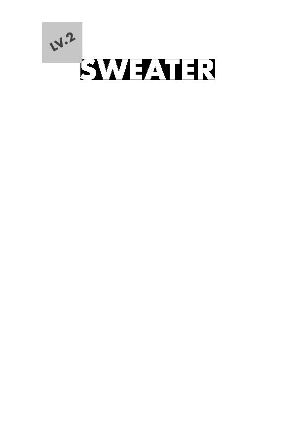 LV.2 SWEATER
